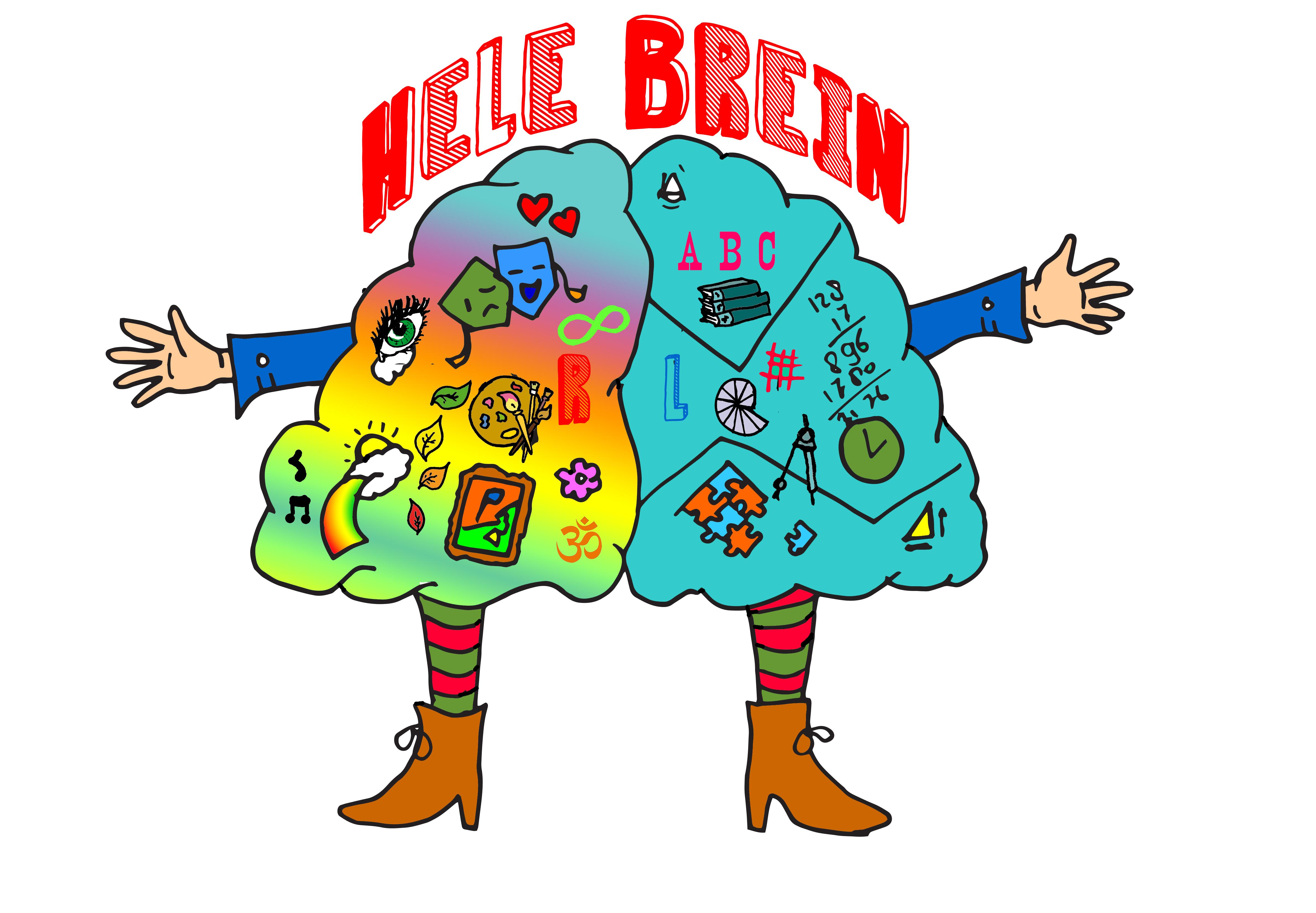 Illustratie: Het hele brein